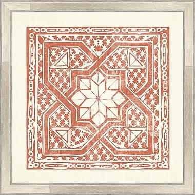 Melissa Van Hise Tiles III Framed Graphic Art