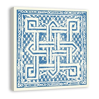 Melissa Van Hise Tiles I Graphic Art on Wrapped Canvas