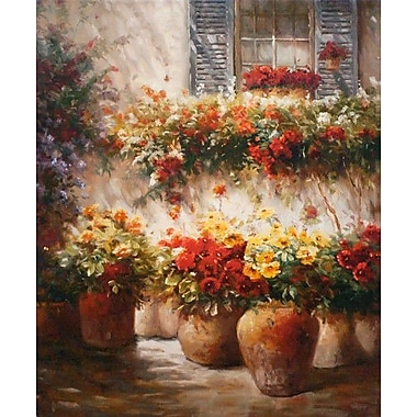 North American Art 'Morning Glow' by Ian Cook Painting Print on Wrapped Canvas