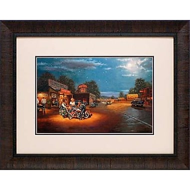 North American Art 'Route 66' by Dave Barnhouse Framed Painting Print