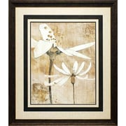 North American Art Pencil Floral II by Avery Tillmon Framed Painting Print