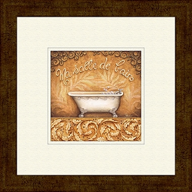 PTM Images Bain De Mousse A Framed Graphic Art