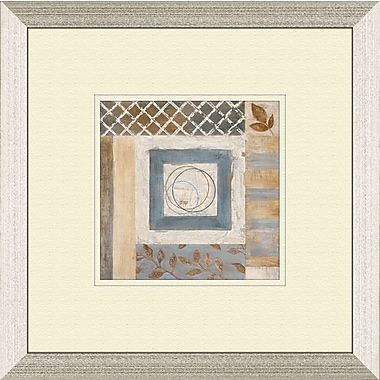 PTM Images Abstract Plan A Framed Painting Print