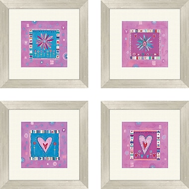 PTM Images 4 Piece Girl Power Framed Art Set