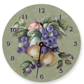 Lexington Studios 18'' Fruit Wall Clock