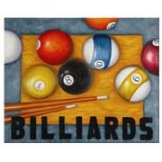 RAM Game Room Painting Print; Billiards