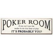 RAM Game Room Framed Vintage Advertisement; Poker Room