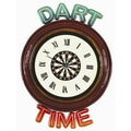 RAM Gameroom Dart Time Wall Clock