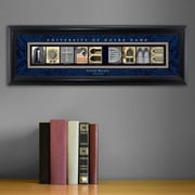 JDS Personalized Gifts Personalized Gift College Campus Framed Memorabilia; Notre Dame