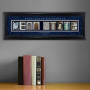 JDS Personalized Gifts Personalized Gift College Campus Framed Memorabilia; Penn State