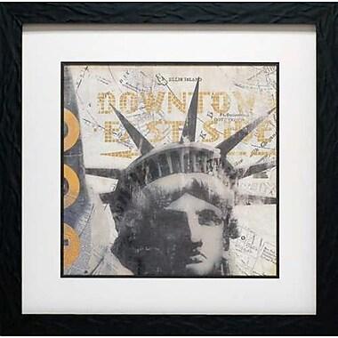 North American Art New York II by David Fischer Framed Graphic Art