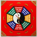 Oriental Furniture Dynasty Yin and Yang Wall Clock