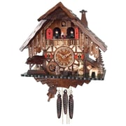 River City Clocks One Day Musical Cottage Cuckoo Wall Clock