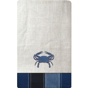 Rightside Design I Sea Life Embroidered Crab Napkin (Set of 4)