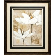 North American Art 'Pencil Floral I' by Avery Tillmon Framed Painting Print