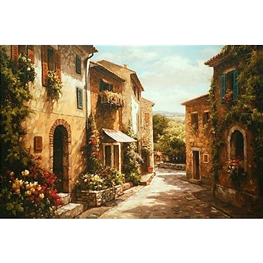 North American Art 'Spring Awaits' by Steven Harvey Painting Print on Wrapped Canvas