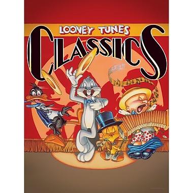 Oriental Furniture Bugs, Daffy, Tweety, and Elmer Looney Tunes Classics Canvas Art