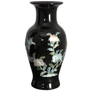 Oriental Furniture Fishtail Vase