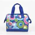 Sachi Insulated Fashion Style 34 Circles Lunch Tote