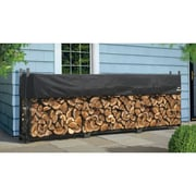 ShelterLogic Ultra Duty Firewood Rack with Cover; 46.8'' H x 140.5'' W x 14.3'' D
