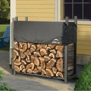 ShelterLogic Ultra Duty Firewood Rack with Cover; 46.8'' H x 47'' W x 14.3'' D