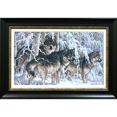 North American Art 'Crystal Forest' by Larry Fanning Framed Painting Print