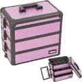 Sunrise Cases Interchangeable Stackable Tray Cosmetic Makeup Train Case