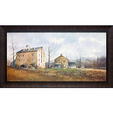 North American Art 'Late November' by Ray Hendershot Framed Painting Print