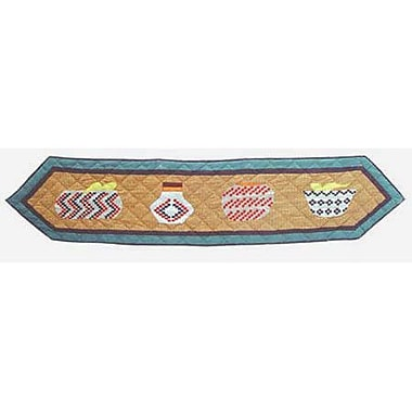 Patch Magic Indian Baskets Table Runner