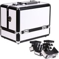 Sunrise Cases Accordion Trays Cosmetic Makeup Train Case