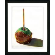 Studio Works Modern ''Candy Apple'' by Zhee Singer Framed Fine Art Giclee Painting Print; Black