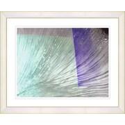 Studio Works Modern ''Ocean Tango'' by Zhee Singer Framed Graphic Art; White