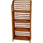 Oriental Furniture 44'' Accent Shelves Bookcase