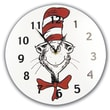 Trend Lab Dr Seuss Cat in the Hat 11'' Wall Clock