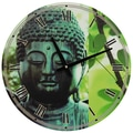 Oriental Furniture 15.5'' Buddha Wall Clock