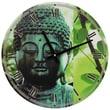 Oriental Furniture 15.5'' Buddha Wall Clock