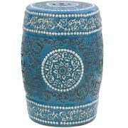 Oriental Furniture Medallion Porcelain Garden Stool