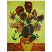 Oriental Furniture 'Sunflowers' by Vincent Van Gogh Painting Print on Wrapped Canvas