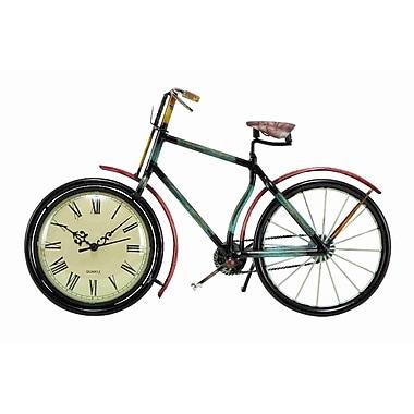 UMA Enterprises Urban Trends Cycle Wall Clock