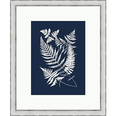 Melissa Van Hise Bucklen Framed Graphic Art; Navy