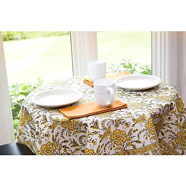 Sustainable Threads Sunshine Tablecloth; 43'' W x 43'' L