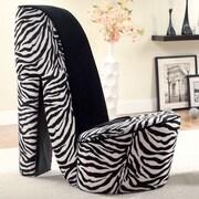 Hokku Designs Stiletto Heel Side Chair; Large