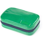Clava Leather Wellie Small Toiletry Case; Green
