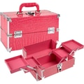 Seya Makeup Train Case; Pink