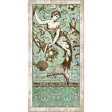 Vintage Signs Drift Mermaid 2 Wall Art by Suzanne Nicoll Graphic Art Plaque