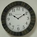 Ashton Sutton Indoor/Outdoor 16'' Wall Clock