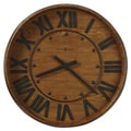 Howard Miller Oversized 25'' Wine Barrel Wall Clock