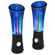 LumiSource Boom2  Speakers with Sound Responsive Water and Light Show