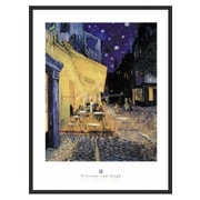 Frames By Mail 'Caf  Terrace at Night' by Vincent Van Gogh Framed Painting Print