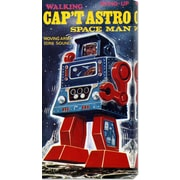 Global Gallery 'Cap't Astro Space Man' by Retrobot Vintage Advertisement on Canvas